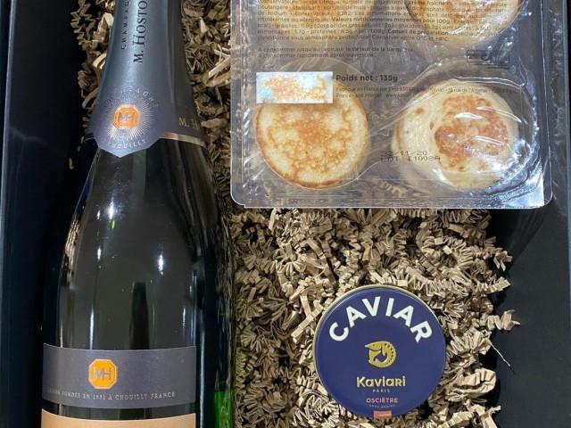1000 & Cimes Champagne et Caviar 99,00€